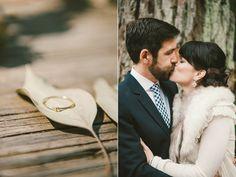 California Redwoods Winter Wedding