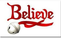 "CHRISTMAS "" BELIEVE "" CLIP ART"