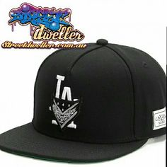 L.A Crimes Snapback  Cayler and Sons  www.streetdweller.com.au