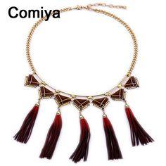 Comiya fashion gold color link chain imitation pearls stones leather tassels women choker necklaces parfum femme wholesale necks   http://www.aliexpress.com/store/product/Comiya-fashion-gold-color-link-chain-imitation-pearls-stones-leather-tassels-women-choker-necklaces-parfum-femme/216487_32697407075.html