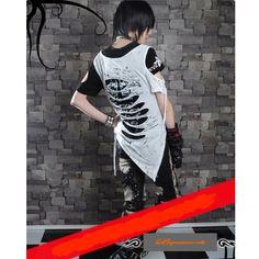 Alternative Cyber Goth Punk Emo Fashion T Shirts Men Women SKU-11409056