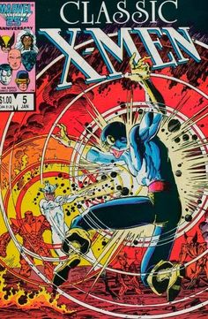 Marvel Comics of the 1980s: 1987 - Anatomy of a cover - Classic X-Men #5