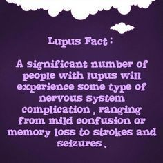 Lupus, with testing.. apparently I'm borderline to having seizures, I've even been told I could be having very mild ones that I'm  not even aware of! Yea...weird...