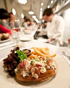 Lobster Roll @ Ed's Lobster Bar in NYC - Ed McFarland shared his recipe for the lobster roll.