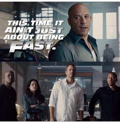 It's About Being Fast AND Furious :D (Get it?)
