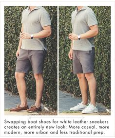 6b11da3600cf20 how to wear white leather sneakers Fashion Essentials, Style Essentials,  Men Style Tips,