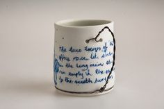Kate Ward: Blue and White Porcelain Ceramics