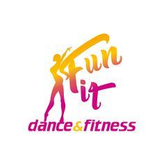 Studio logo - Fun Fit - Dance & Fitness di Claudia Ancillotti --- Designer: Stefano Sodini [Tipografia Digital Color]