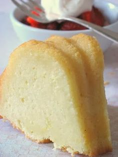 Ultimate Pound Cake - Fresh, wholesome, light, and so lemony...