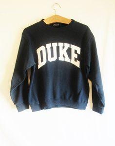 Vintage 1990 s Retro Duke Sweatshirt. College SweatshirtsRetro SweatshirtsCollege  ShirtsCollege ... 5756bffa9