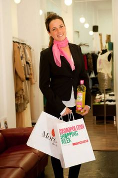 Mordisco de Mujer. Una de nuestras tiendas colaboradoras de SoyPlus Omega 3 en la Cosmopolitan Shopping Week