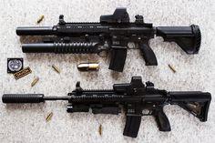 HK416 - Heckler+Koch Rifle STOCK by PhelanDavion on DeviantArt