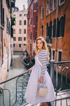 Gal Meets Glam Venice to Burano Island - SAU dress, Claude Pierlot sweater and Gucci bag