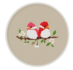 Cross stitch pattern cross stitch birds cross by MagicCrossStitch