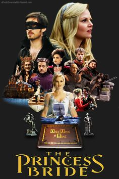 Someone finally made it- The Princess Bride, Captain Swan