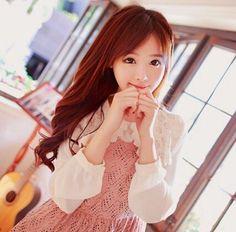 I ❤ ulzzang Kawaii Fashion, Cute Fashion, Asian Fashion, Ulzzang Fashion, Ulzzang Girl, Ulzzang Style, Gyaru Fashion, Sweet Girls, Cute Girls