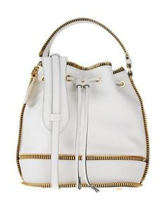 MOSCHINO . #moschino #bags #shoulder bags #hand bags #leather #bucket #