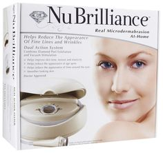 NuBrilliance At Home Microdermabrasion Kit - I want it !