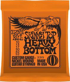 Ernie Ball 3215 Heavy Bottom Slinky Electric Guitar Strings 10-52 3-Pack of 2215