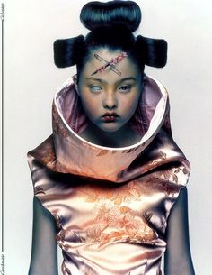 Devon Aoki in Alexander McQueen - Nick Knight