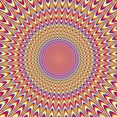 super sexy psy trance fractals | In de volgende illusies lijken de cirkels rond te draaien. Dit effect ...