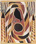 Aboriginal art online - link found on the western australian government teachers resources Arnhem Land print