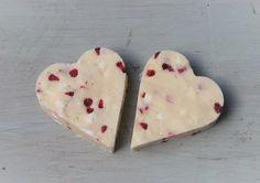 Valentines day fudge heart from The Copper Pot Fudge Kitchen. Eton Mess fudge from £1.