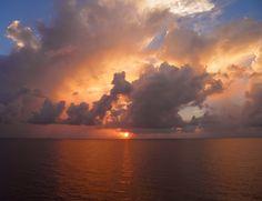Sunrise in the #Bahamas