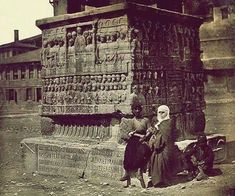 Theodosius's Obelisk, Istanbul 1885 (Photo James Robertson) Old Pictures, Old Photos, Istanbul Pictures, Crimean War, Tate Britain, Pyramids Of Giza, History Of Photography, Expositions, Ancient Greece