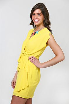 Sunny Side Up Dress - Yellow