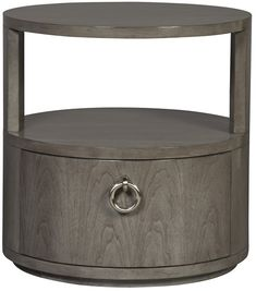 Vanguard Furniture: 9508L Slocum Hall End Table many finishes.   See with super wide headboard