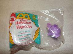 Hercules's Pain and Cyclops Mcdonlad Toy - 1996 #McDonalds
