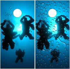 HTUAEUEHRH Octopus Diving Helmet Scuba Dive Baby Boys Toddler Short Sleeve T-Shirts Tees