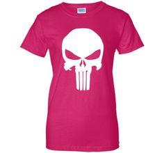 Punisher Classic Skull Symbol Graphic T-Shirt