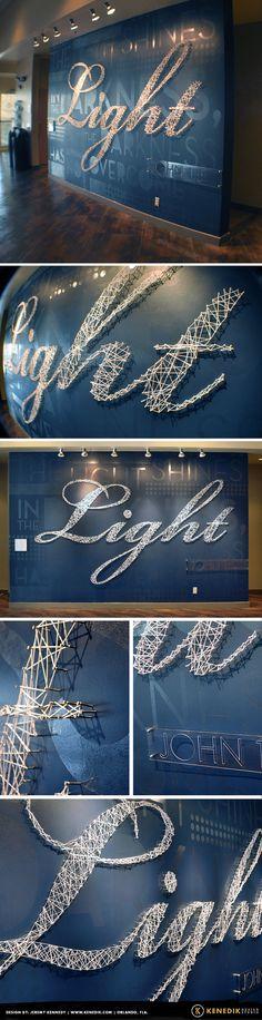 Summit Light Wall — KENEDIK Design Studio   Art Direction, Apparel Design, Logo Design, Illustration   Orlando, FL