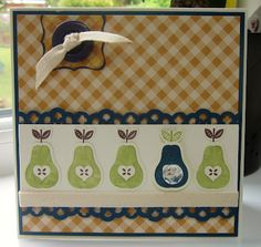 Stampin' Up UK Demonstrator Sarah-Jane Rae Cards and a Cuppa blog: Perfectly Preserved Birthday with a tutorial too!