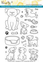 Playful Pups | 4x6 Stamp Set