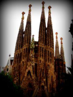 La Sagrada Famiglia, Barcelona,Spain... company trip to Spain... tours...amazing
