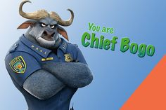 Which 'Zootopia' Character Are You? - Welcome to the mammal metropolis! Chief Bogo