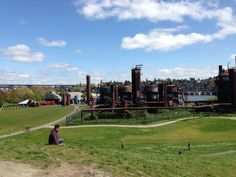 Gasworks park, Seattle! Awesome view!