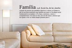 Adesivo de Parede Significado Família