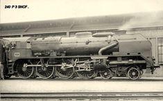 Locomotives et trains de la SNCF - Page 24 - CPArama.com 240 P 3 Locomotive Diesel, Paris Montparnasse, Le Mans, Trains, Military Vehicles, France, Miniature, Photos, Work Train