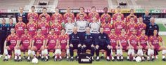 Effectif année 2000-2001 Fc Metz, Equipement Football