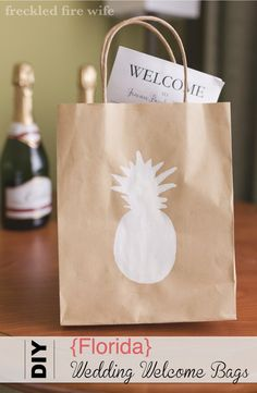 Virginia Themed Wedding Gift Bags : Wedding Welcome Bag: Summer in Florida Welcome Bags, Wedding Welcome ...