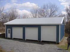 """Building Dimensions: 30' W x 40' L x 10' 4"""" H (ID# 335)  Visit: http://pioneerpolebuildings.com/portfolio/project/30-w-x-40-l-x-10-4-h-id-335-total-cost-14477  Like Us on Facebook! www.facebook.com/... Call: 888-448-2505 for any questions!"""