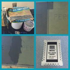 MVIS™ DEMO: Prep cement board joints, MVIS™ VENEER MORTAR to cover the joint, MVIS™ AIR & WATER BARRIER & measure