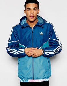 schuhe adidas Adidas Crdo Windbreaker Herren Blau Gelb
