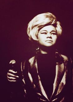 My ALL time FAVORITE singer in the world...ETTA JAMES #22 on Rolling Stones top 100 best singers to ever live (but she's #1 to me). She's the queen of the blues & soul...& the queen of music. Period!