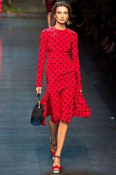 Dolce & Gabbana Spring 2014 RTW - Runway Photos - Fashion Week - Runway, Fashion Shows and Collections - Vogue Fashion Week, Runway Fashion, Spring Fashion, Fashion Show, Womens Fashion, Fashion Design, Milan Fashion, Nail Fashion, Review Fashion