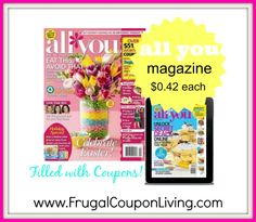 All You Magazine: One-Year Subscription Just $5! #magazine #sale